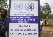 """Burundi: """"descente aux enfers"""" en matière des droits de l'Homme"""