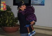 Arrivée seule, une fillette ivoirienne retrouve sa mère à Lampedusa