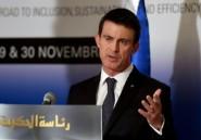 Le Premier ministre français Manuel Valls est en Tunisie