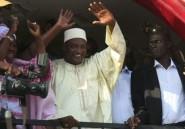 Présidentielle en Gambie: avance réduite pour le vainqueur Barrow