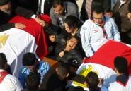 Égypte: funérailles des 24 victimes de l'attentat du Caire