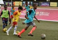 A Lagos, les petits Nigérians rêvent du Barça