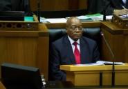 """Afrique du Sud: Zuma dénonce la corruption et les """"erreurs"""" de l'ANC"""