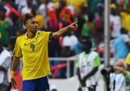 CAN:  Aubameyang marque mais fête gâchée pour le Gabon