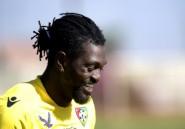 CAN: sans club, Adebayor défie la Côte d'Ivoire avec le Togo