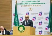 Le roi du Maroc Mohammed VI au siège de l'Union Africaine