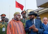 Le roi du Maroc en visite au Soudan du Sud