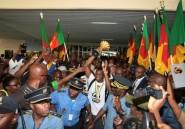 CAN: Yaoundé en liesse pour le retour des Lions indomptables