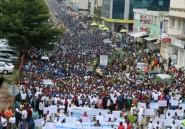Des milliers de Burundais manifestent contre les pourparlers d'Arusha