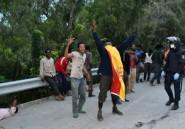Maroc: 300 migrants ont forcé la frontière