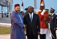 Le roi du Maroc en Côte d'Ivoire, après le Ghana et la Guinée