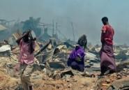 Somalie: 3 morts dans un important incendie