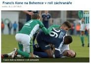 République tchèque: le Togolais Francis Koné a fait taire les supporteurs racistes