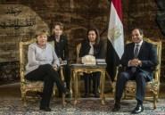 Merkel au Caire pour discuter de la crise libyenne