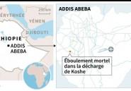 Au moins 113 morts dans l'éboulement de la décharge en Ethiopie