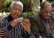 Afrique du Sud: une peinture montre Zuma en train de violer Mandela