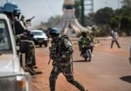 Centrafrique: un Casque bleu tué, 4 disparus, 8 blessés