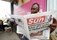 Hospitalisé à Londres, le président nigérian envoie un message vocal à ses concitoyens