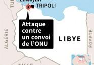 Libye: des membres de la mission de l'ONU brièvement enlevés