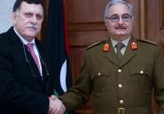 Rencontre entre rivaux libyens