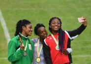 Jeux de la Francophonie: Doublé 100-200 pour la Congolaise Ngoye Akamabi
