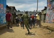 Gaz lacrymogène, pneus brûlés et vive tension au Kenya