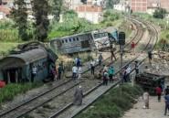 Accident de train en Egypte: six secouristes sanctionnés pour des selfies