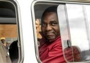 Zambie: le chef de l'opposition libéré après l'abandon des charges de trahison