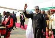 """Nigeria: le président Buhari """"heureux"""" d'être de retour"""