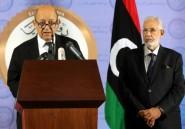 """En Libye, Le Drian souligne l'""""engagement"""" de Paris en faveur d'un règlement"""
