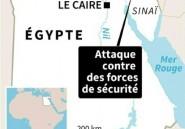 Egypte: 18 morts dans une attaque contre des forces de sécurité revendiquée par l'EI