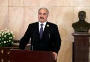 Libye: le maréchal Haftar demande des hélicoptères contre l'immigration