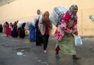 """Entre le Maroc et Ceuta, le travail de forçat des """"femmes-mulets"""""""