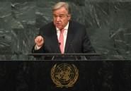 """Centrafrique: """"Une crise oubliée"""" pour Antonio Guterres"""