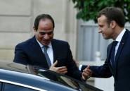 Macron apporte un soutien appuyé