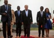Le secrétaire général de l'ONU au coeur du chaos centrafricain