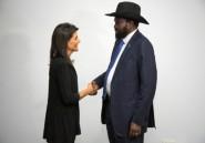 Soudan du Sud: l'ambassadrice américaine
