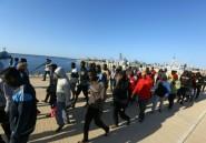 Migrants bloqués en Libye: -70% d'arrivées depuis l'été en Italie