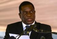 Le vice-président Mnangagwa, limogé par Mugabe, de retour au Zimbabwe