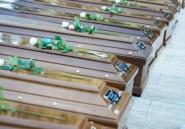 En Italie, funérailles sobres pour les 26 jeunes migrantes noyées