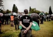 Afrique du Sud: nouvelle manifestation contre les attaques de fermiers blancs