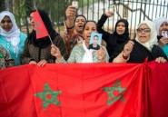 Maroc: des familles de migrants retenus en Libye manifestent