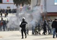 Tunisie: violences après une manifestation, deux gendarmes blessés
