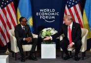 """Trump adresse de Davos """"ses sentiments chaleureux"""" aux Africains"""