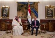 Le prince héritier saoudien a débuté au Caire sa première tournée