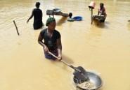En Sierra Leone, les orpailleurs sortent