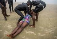 Les sauveteurs en mer du Ghana s'entraînent avant les vacances