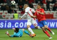 Mondial-2018: une Tunisie séduisante bat le Costa Rica en préparation