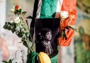 L'Afrique du Sud rend hommage