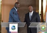 Le président libérien veut renforcer les relations avec la Côte d'Ivoire